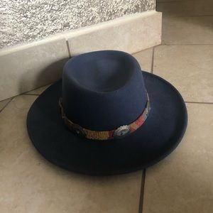 BOHEMIAN cowboy turquoise hat